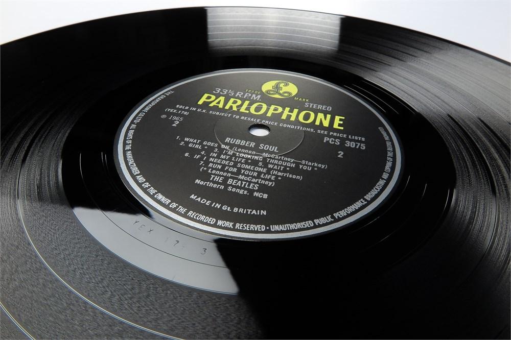 Parlogram Auctions The Beatles Rubber Soul Uk Near
