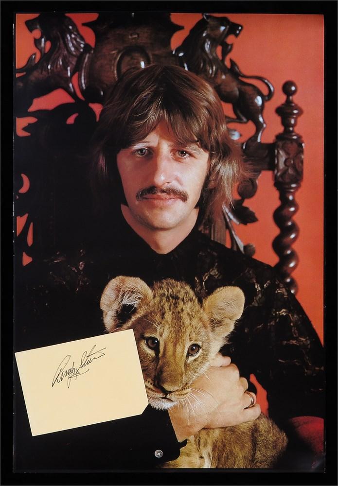 Parlogram Auctions Ringo Starr Signed Uk Embarkation