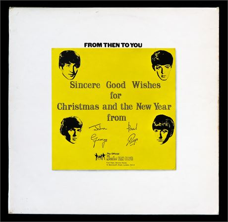 The Beatles - From Then To You - UK 1970 Original Apple Xmas LP MINT-