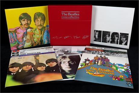 The Beatles Mono Collection - *MINT/UNPLAYED* UK 1981 Red Box Set (BMC 10)