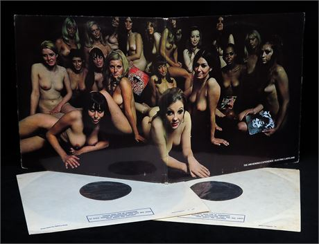 Jimi Hendrix Experience - Electric Ladyland - UK 1968 1st Press DLP