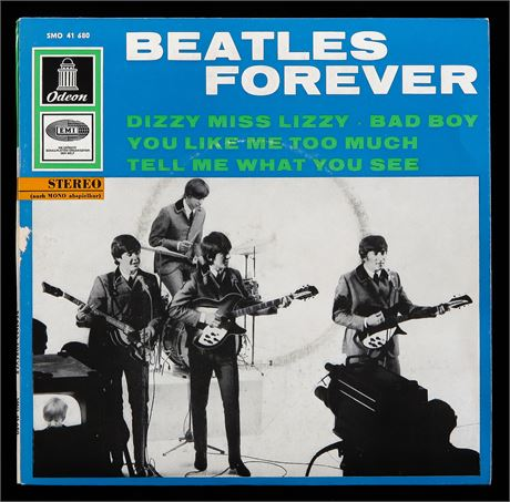 Beatles Forever - UK 1965 German Odeon STEREO p/s EP NM