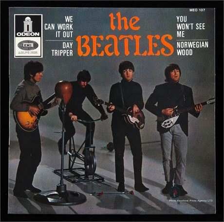 The Beatles - We Can Work It Out - UK 1966 French Odeon EP MINT