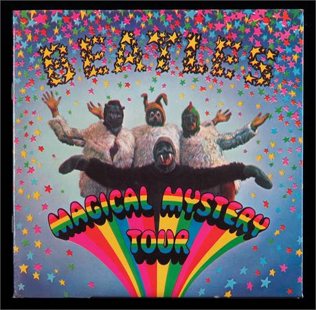 The Beatles - Magical Mystery Tour - MINT- UK 1967 1st MONO 2 EP Set
