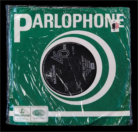The Beatles - A Hard Day's Night - UK 1969 *SEALED* Parlophone 45 MINT